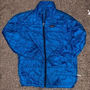 Kid's Patagonia Full Zip Puffer Jacket
